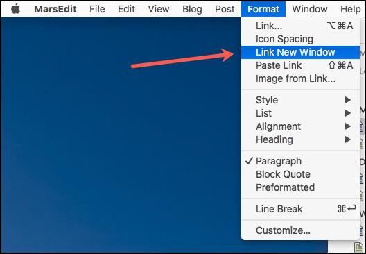 Link New Window