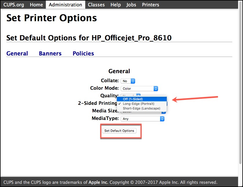 2-Sided Printer