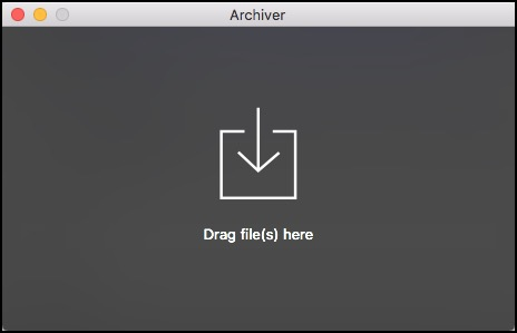 Archiver Main