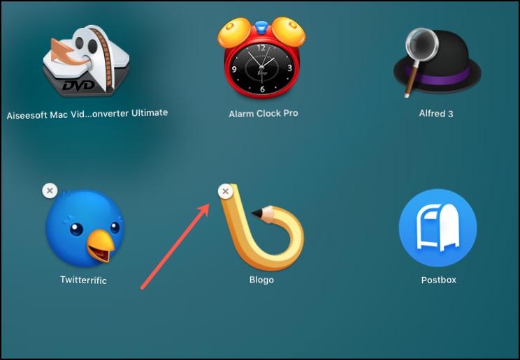 App Store Delete X