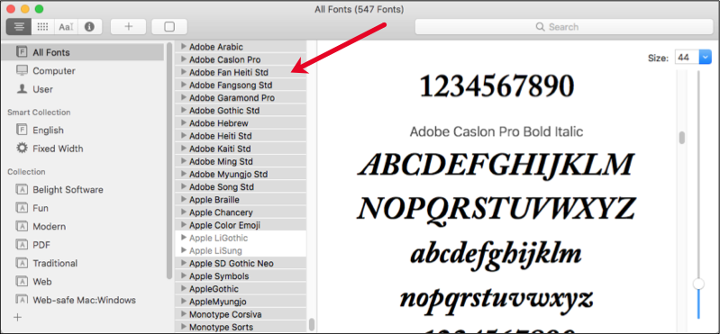 Validating Fonts | Macessence Blog