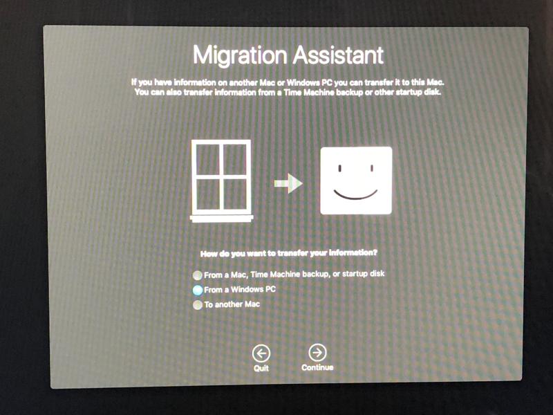 Windows Transfer
