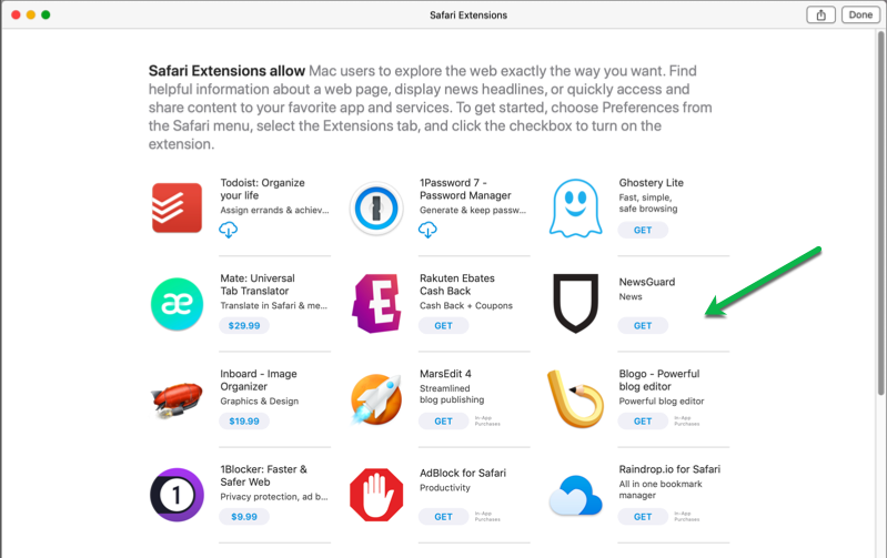 App Store Extensions