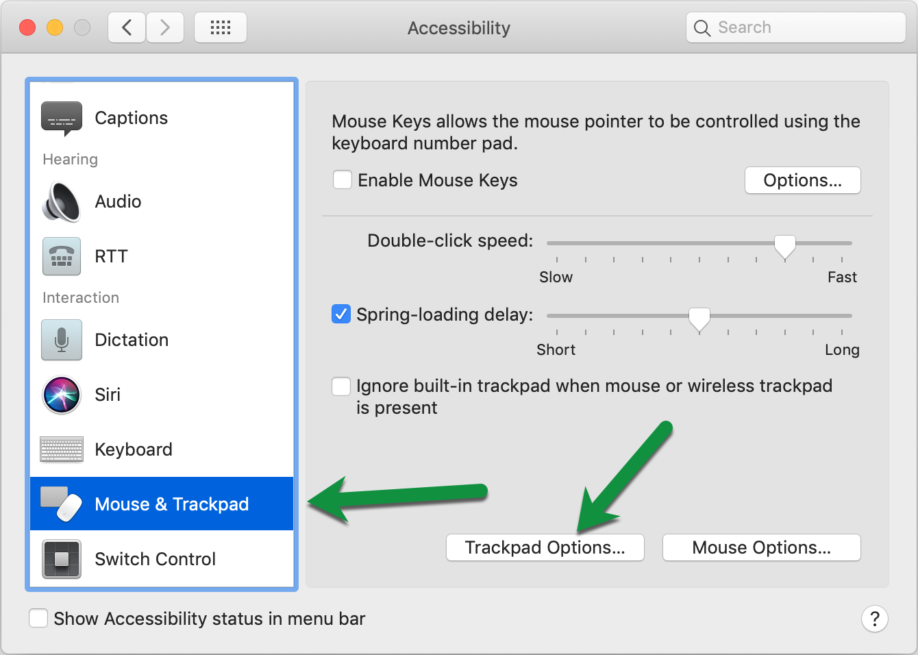 Mouse & Tackpad